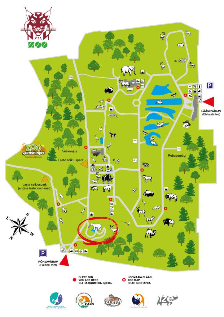loomaaed kus asub polaarium